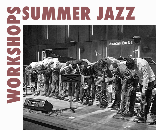 De Keep an Eye Summer Jazz Workshops