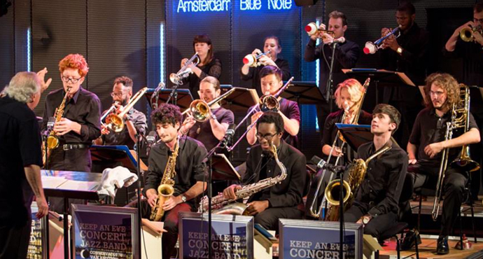 De Concert Jazz Band op de plaat