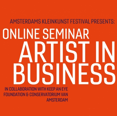 Seminar Artist in Business online groot succes