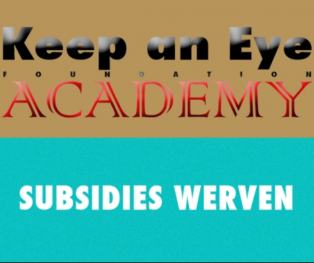 De do's and don'ts van subsidies werven - DE KEEP AN EYE ACADEMY